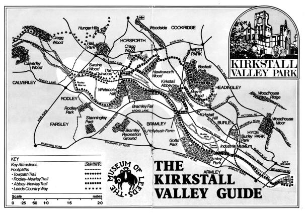 Cover of the Kirkstall Valley Guide