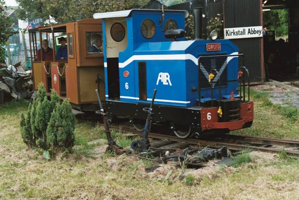 Photograph of the Abbey Light Railway